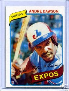 1980 Topps - 4th Year card