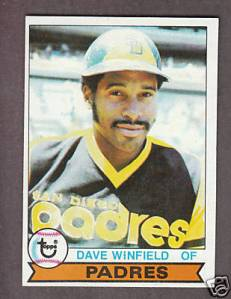 1979 Topps Dave Winfield
