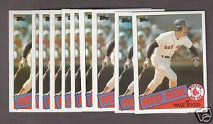 1985 Topps Wade Boggs