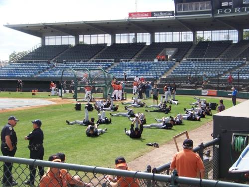 Synchronized Stretching???