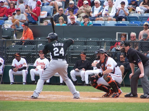 Now Batting, Center Fielder, Cameron Maybin