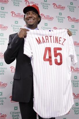 Phillies Martinez Baseball