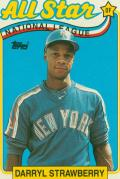 Straw 89 Topps AS