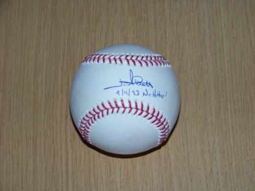 The ball I had Abbott sign for me TTM - SWEET!!!