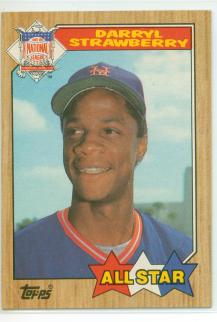 Straw 87 Topps AS