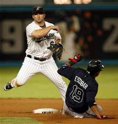 Uggla was the lone offensive star for the team, going 2-2 with both RBI.