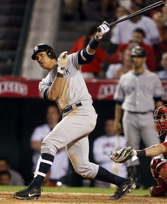 ALCS Yankees Angels Baseball