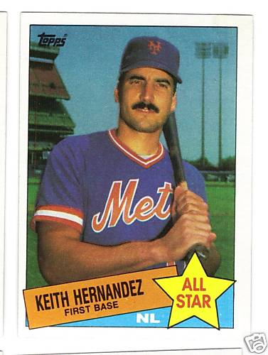 Keith Hernandez Collection 30 Year Old Cardboard