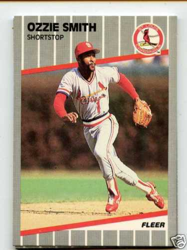 Baseball Card Companies Love Ozzie Smith 30 Year Old