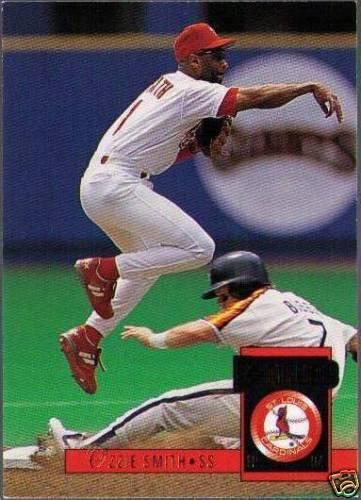 Baseball Card Companies Love Ozzie Smith 30 Year Old
