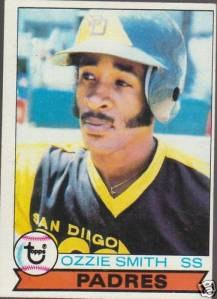 Ozzie Smiths 1979 Topps Rookie Card 30 Year Old Cardboard