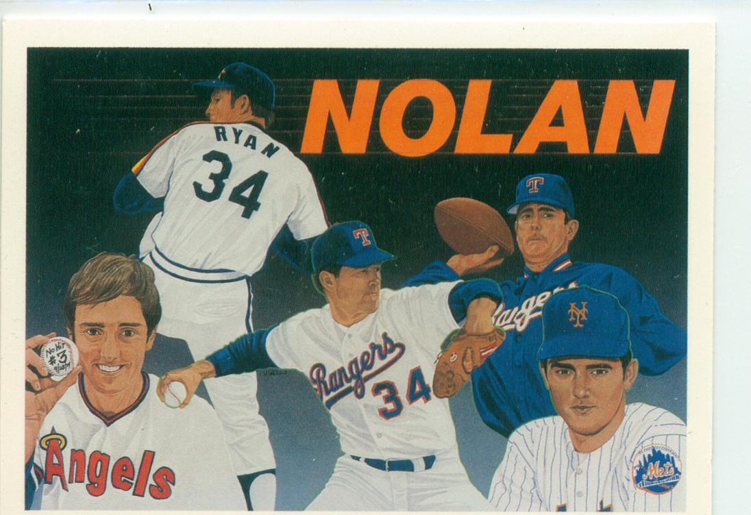 1990 Upper Deck Baseball Heroes Nolan Ryan Subset Card 9