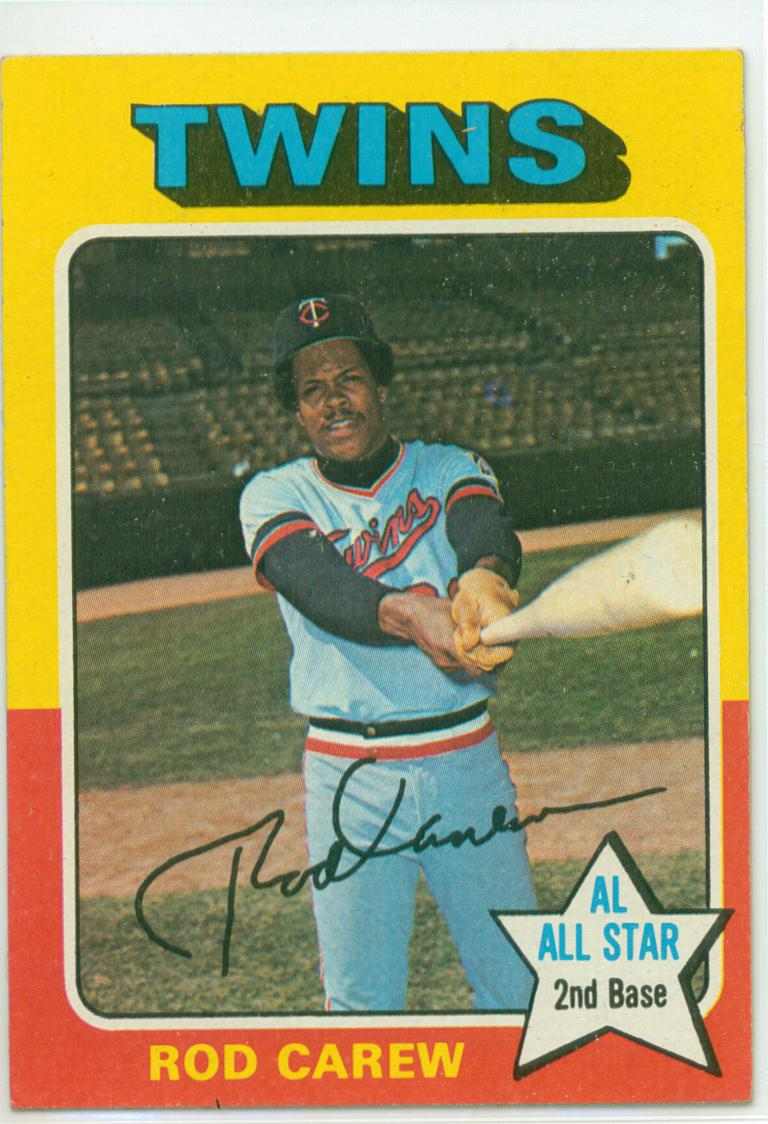 Baseball Card Show Purchase 12 1975 Topps Rod Carew 30