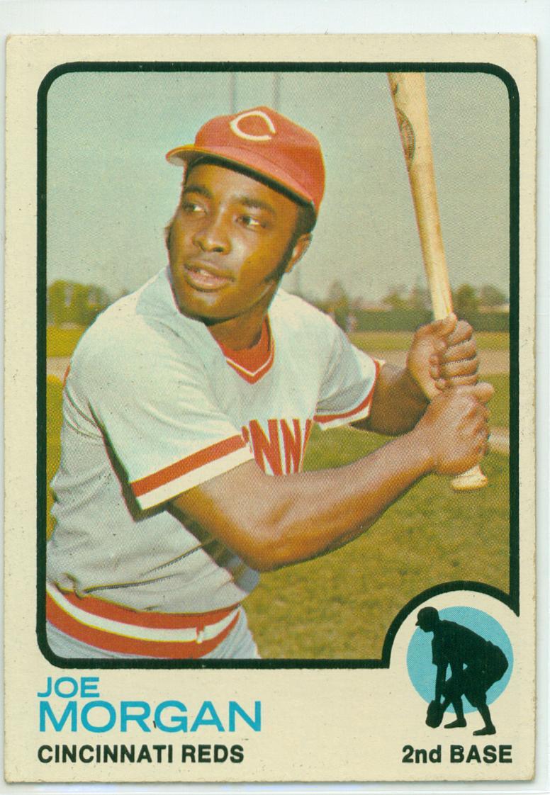 Baseball Card Show Purchase 8 1973 Topps Joe Morgan 30