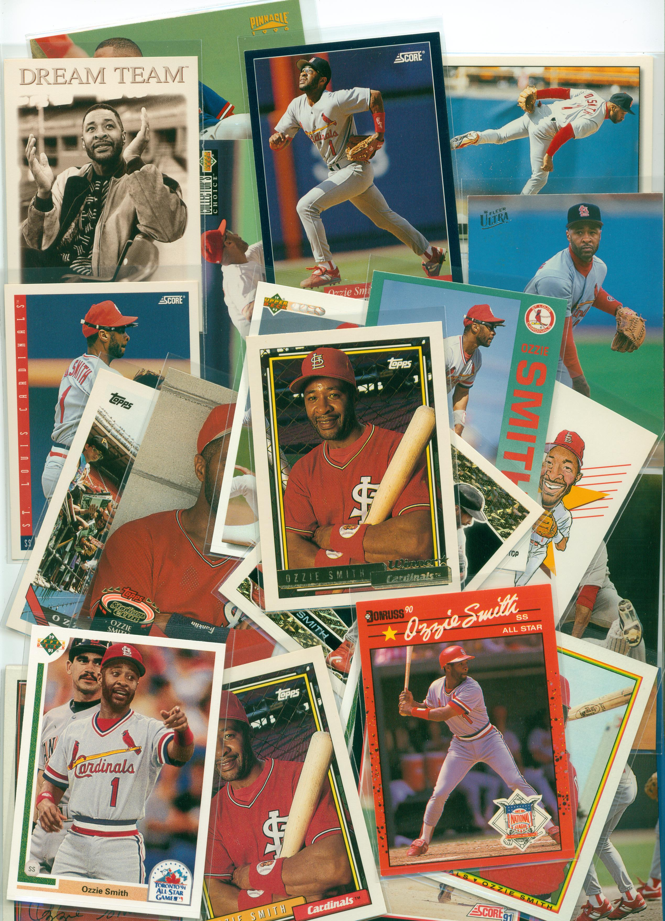 Baseball Card Show Purchase 10 A Healthy Stack Of Ozzie