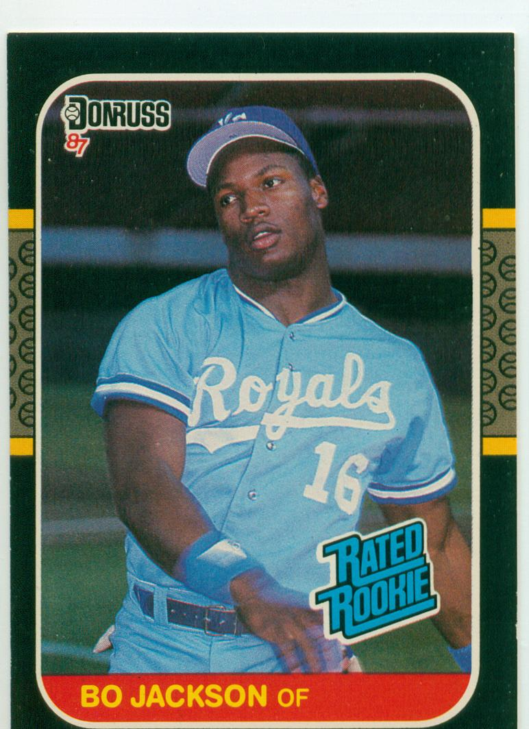 Baseball Card Show Purchase 8 Bo Jacksonss 1987 Donruss