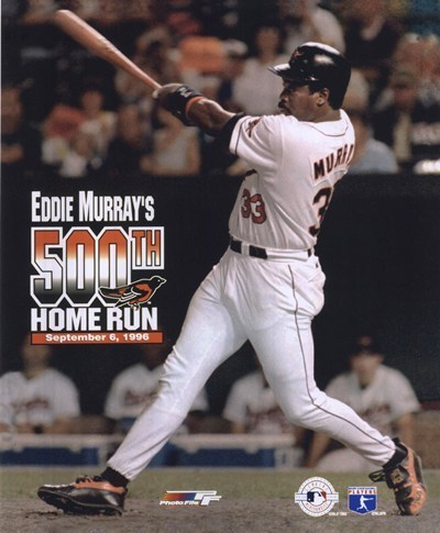 Image result for eddie murray hits 500 images