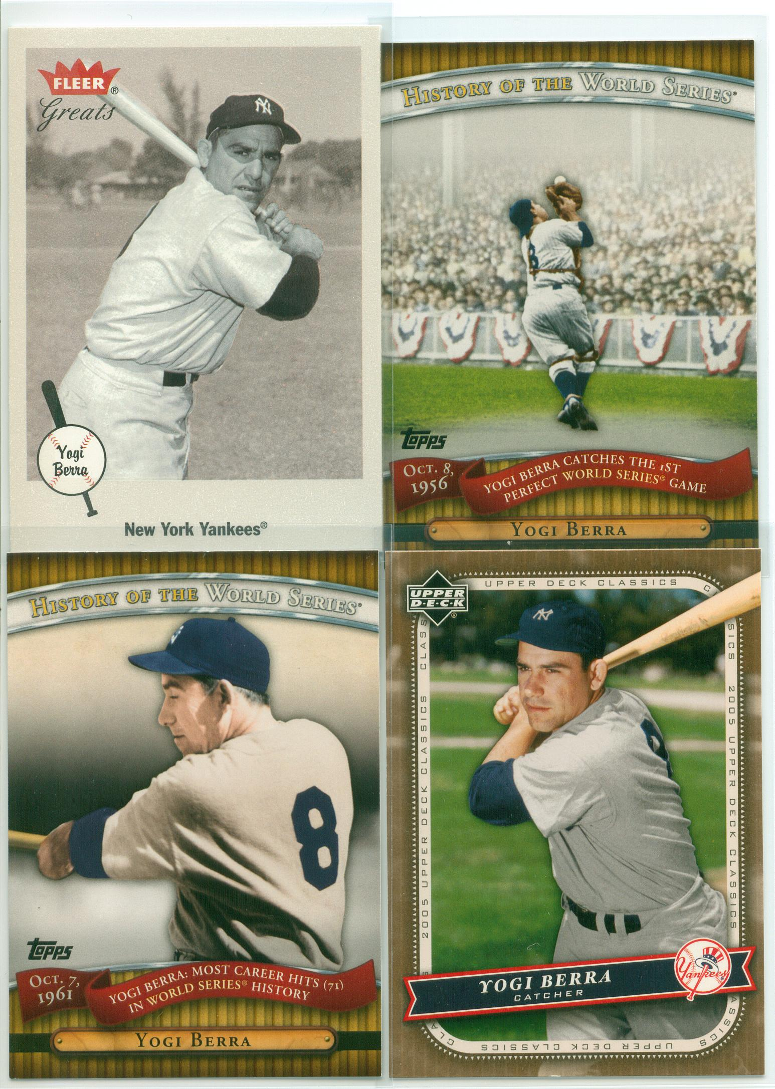 Baseball Card Show Purchase 12 Yogi Yogi Yogi And Yogi