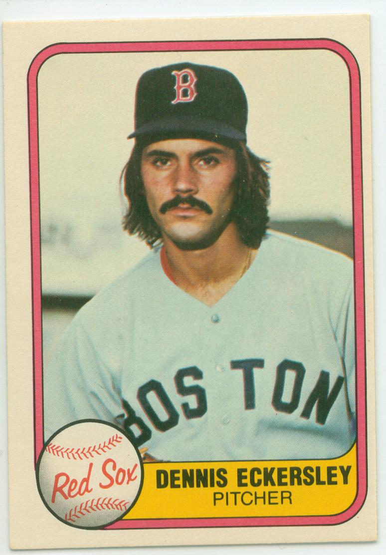 Dennis Eckersley Collection 30 Year Old Cardboard Page 5
