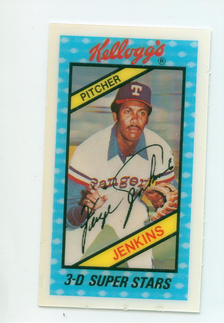 Kelloggs Baseball Cards 30 Year Old Cardboard