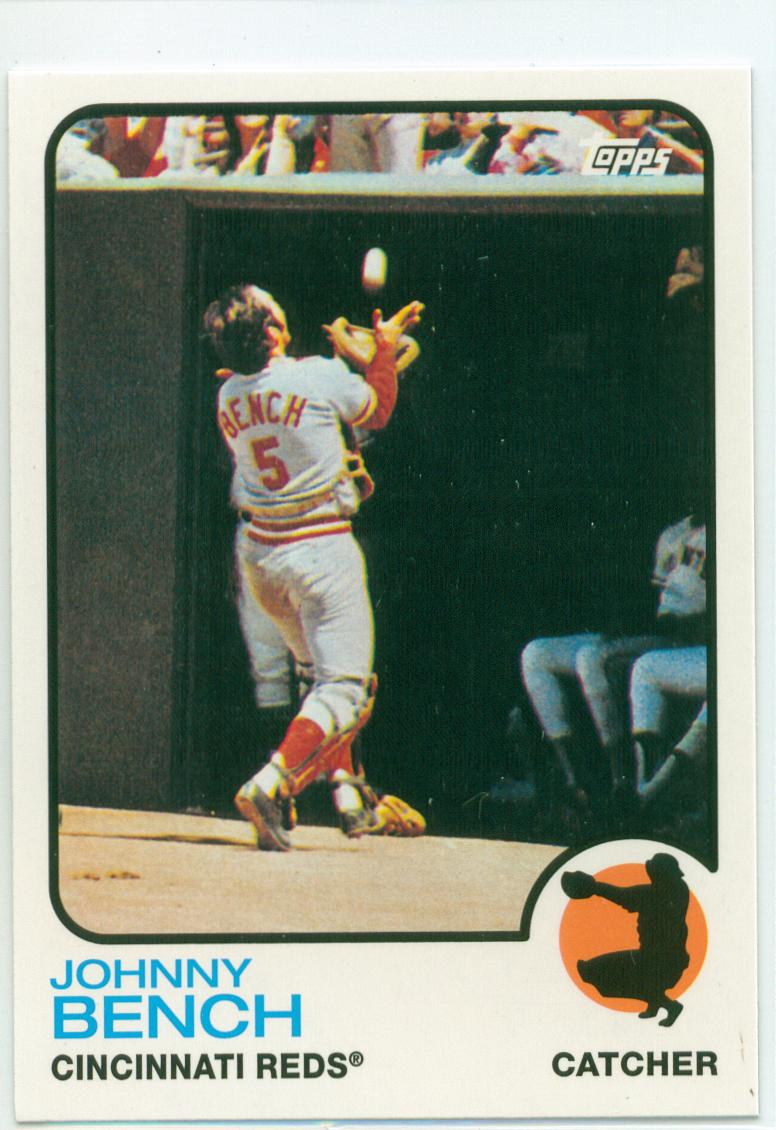 Johnny Bench 2010 Topps Cards Your Mom Threw Out 30 Year Old Cardboard