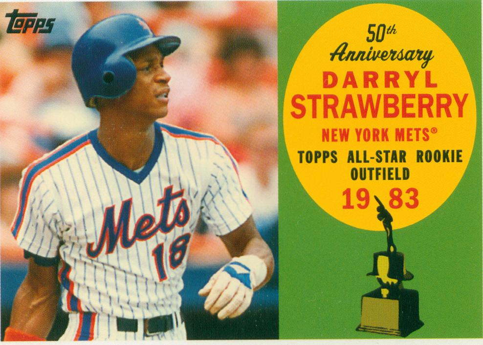 Darryl Strawberry 2008 Topps 50th Anniversary All Rookie