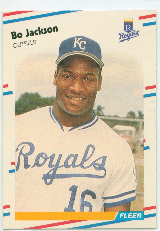 Bo Jackson 1988 Fleer 30 Year Old Cardboard