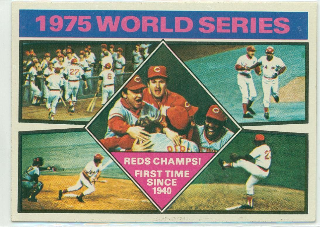 1976 Cincinnati Reds Team Set 30 Year Old Cardboard