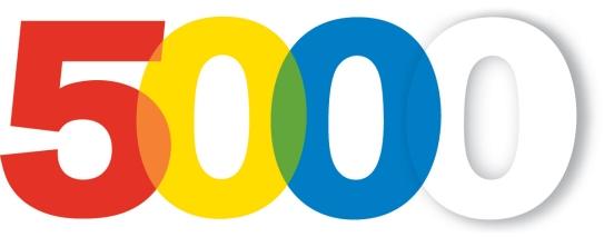 5.000 - Fünftausend Mitleser, Mitdenker, Mitfühler. Es tut gut.