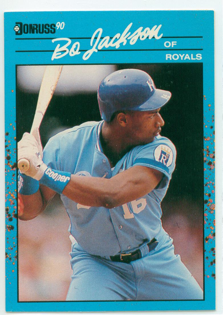 Bo Jackson 1990 Donruss Baseballs Best 30 Year Old Cardboard