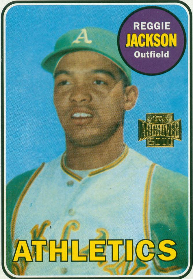 Baseball Card Show Purchase 4 Reggie Jackson 2001 Topps