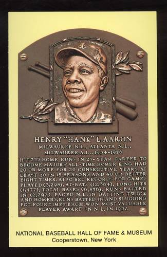 hank aaron and the hall of fame class of 1982 30year