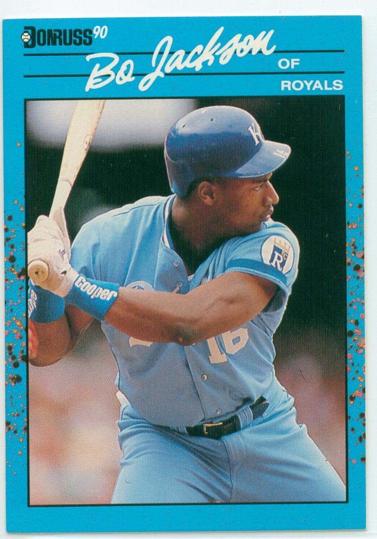 Bo Jackson 1991 Donruss Baseballs Best 30 Year Old Cardboard