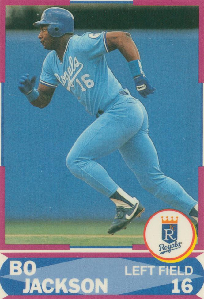 Bo Jackson Collection 30 Year Old Cardboard