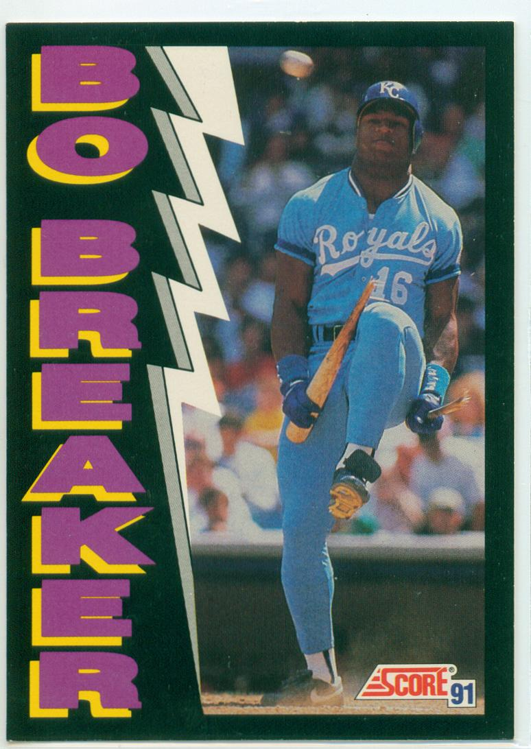 Bo Jackson Collection 30 Year Old Cardboard Page 2