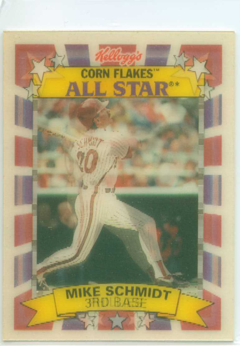 Mike Schmidt 1992 Kelloggs Corn Flake All Stars 30 Year