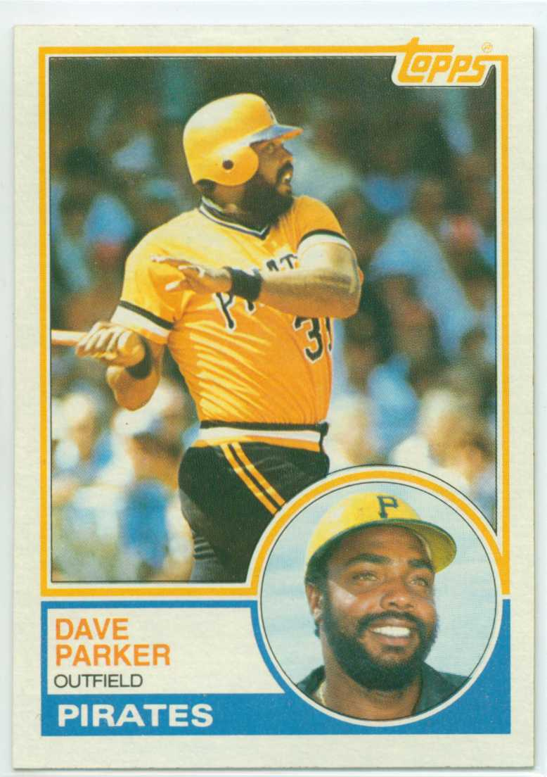 Dave Parker 1983 Topps 30 Year Old Cardboard