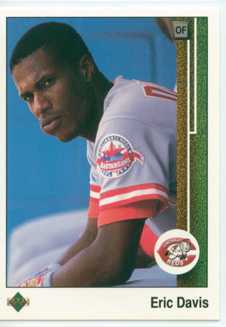 Eric Davis 1989 Upper Deck 30 Year Old Cardboard