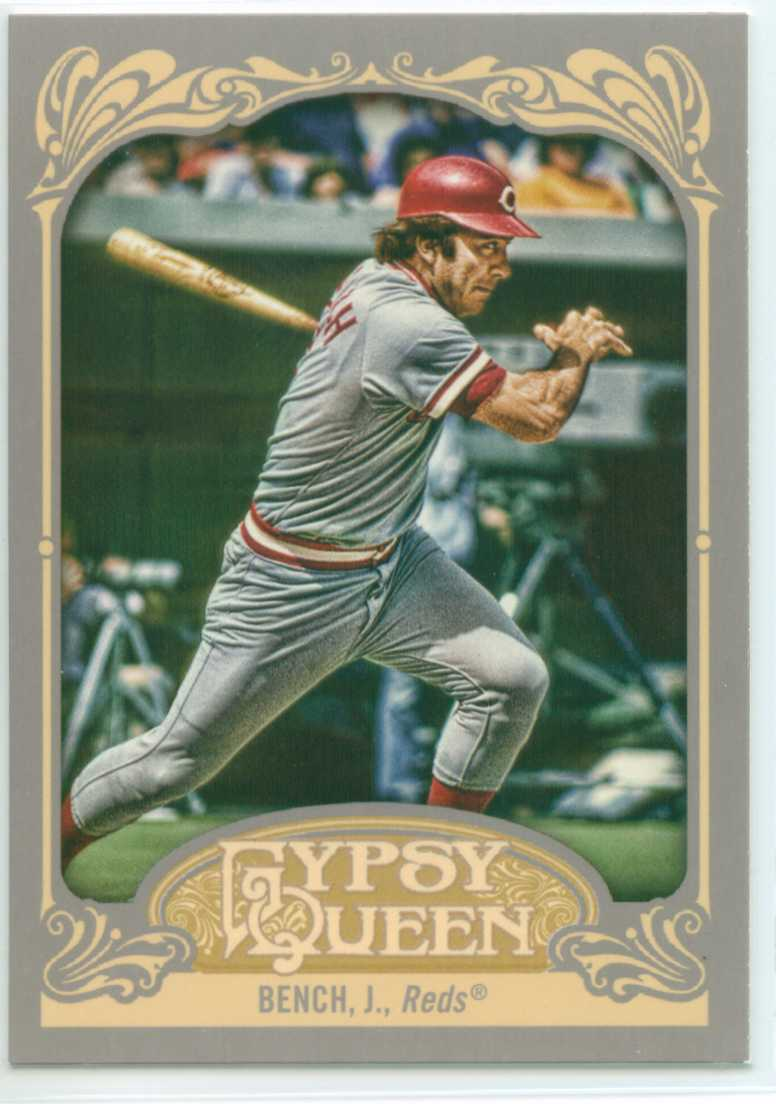 Johnny Bench Collection 30 Year Old Cardboard Page 10