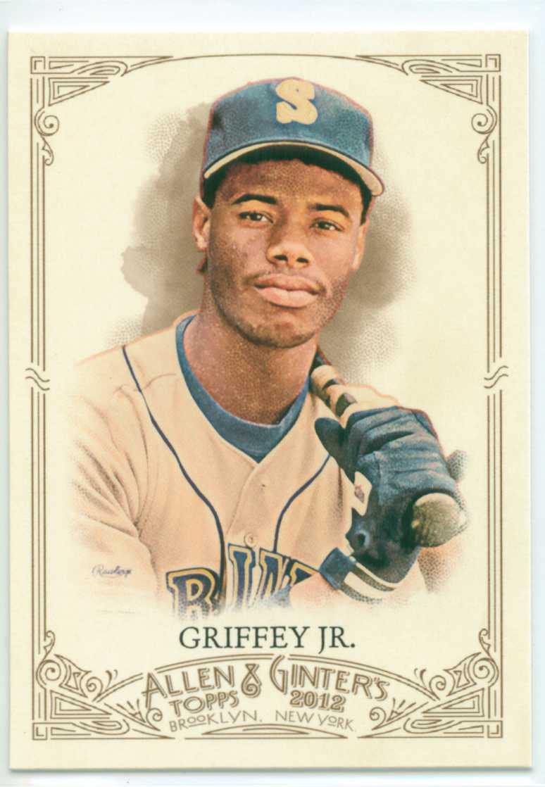 Baseball Card Show Purchase 4 Ken Griffey Jr 2012 Topps