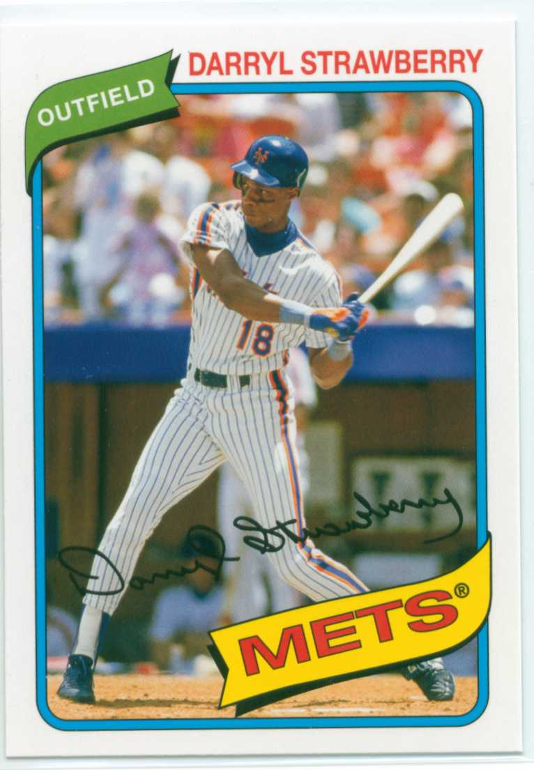 Darryl Strawberry 2012 Topps