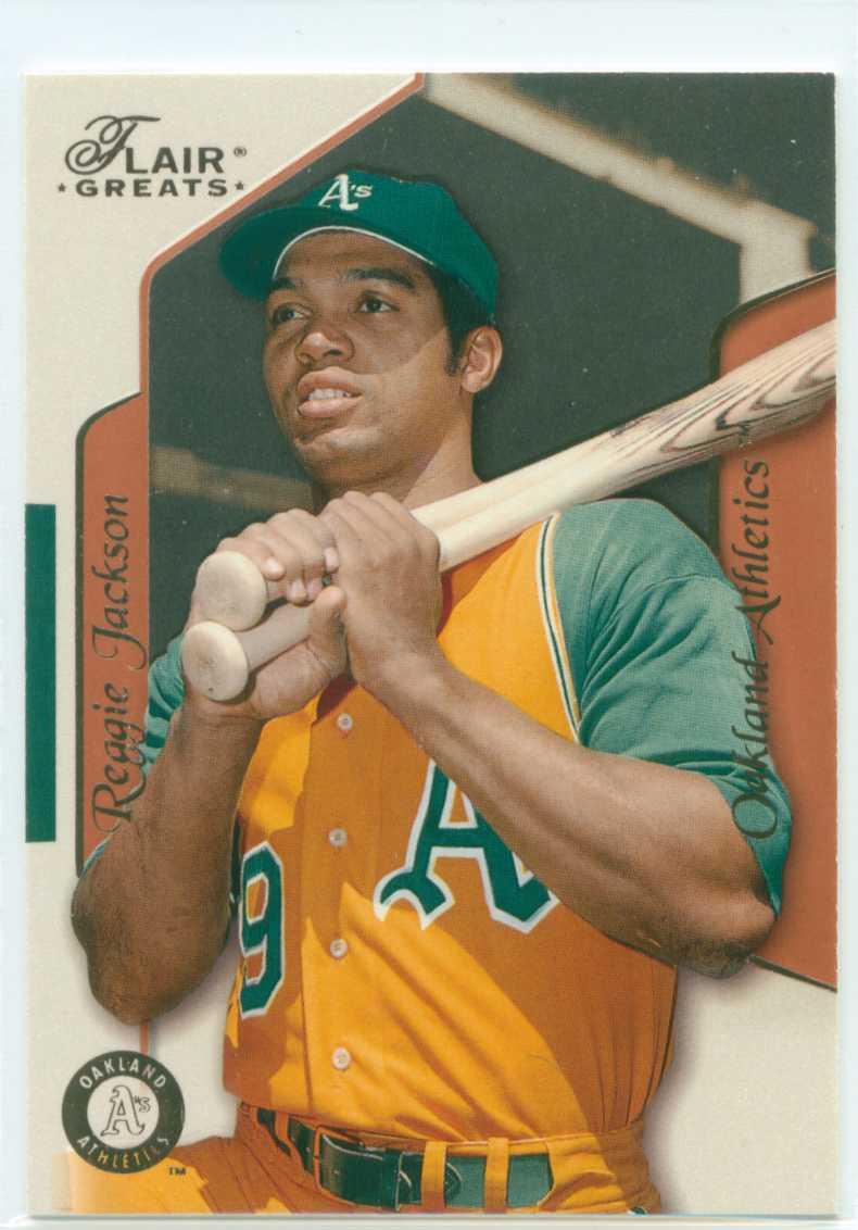 Baseball Card Show Purchase 3 Reggie Jackson 2003 Fleer
