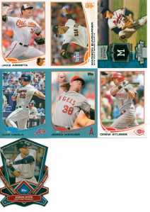 2013 TOPPS PACK A