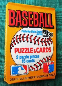 1984 donruss pack
