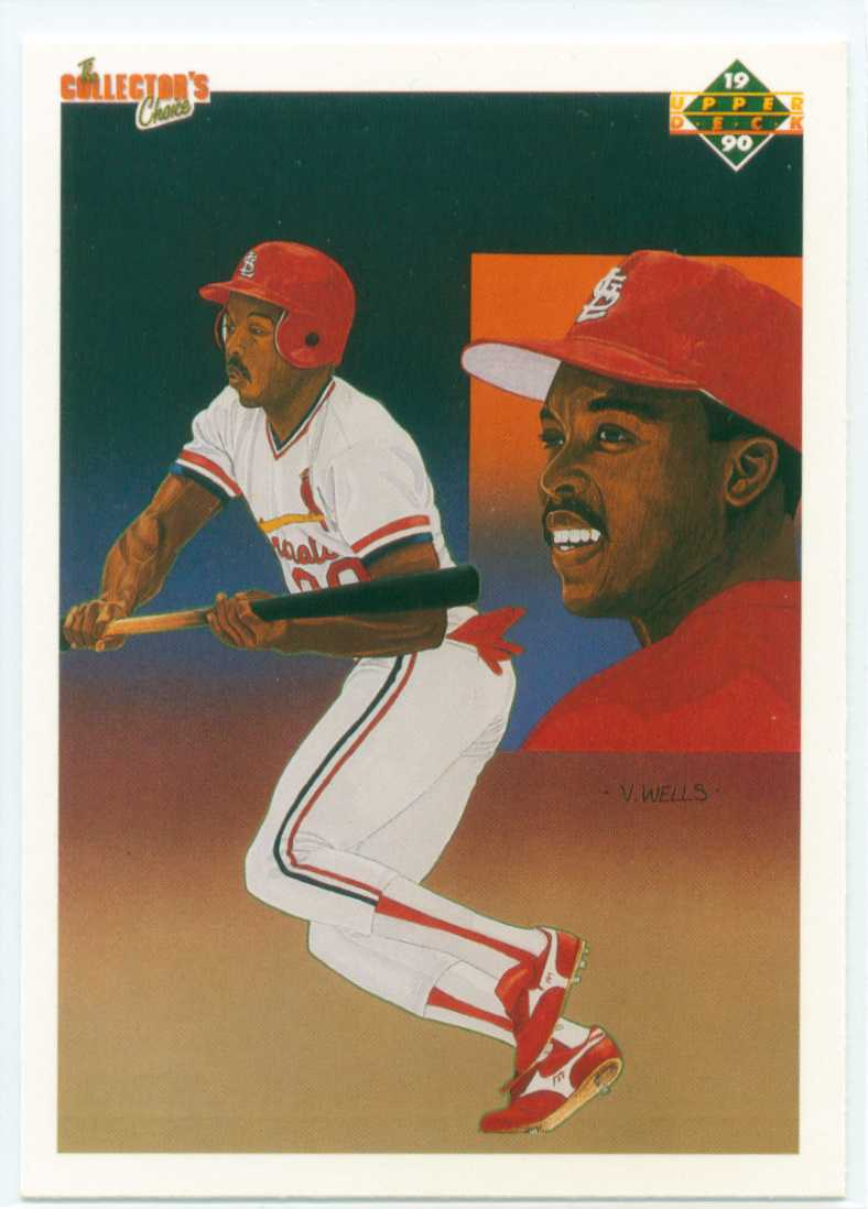 Vince Coleman 1990 Upper Deck Collectors Choice St Louis