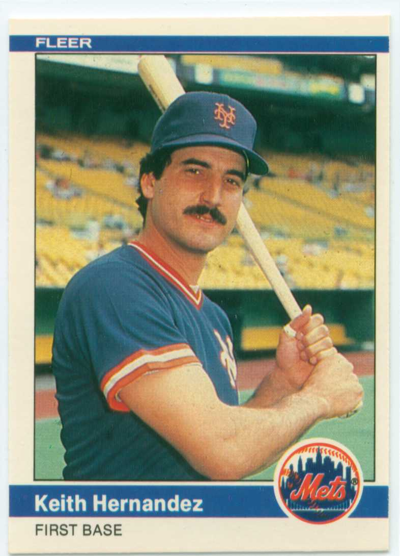 Keith Hernandez 1984 Fleer Name That Stadium 30 Year