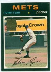 NOLAN RYAN 1971 REPRINT