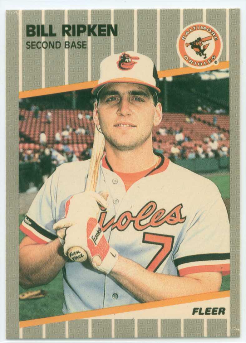 Baseball Card Show Purchase 11 Billy Ripken 1989 Fleer Fck Face