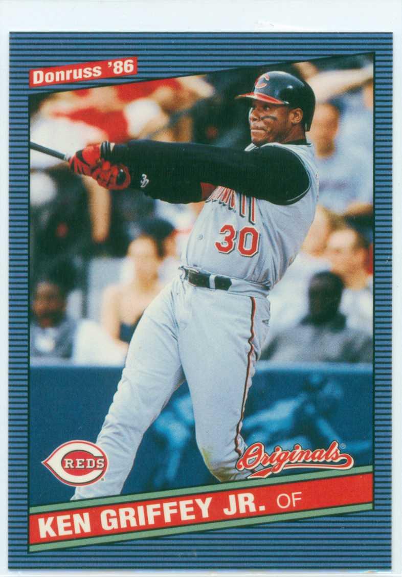 Baseball Card Show Purchase 8 Ken Griffey Jr 2002