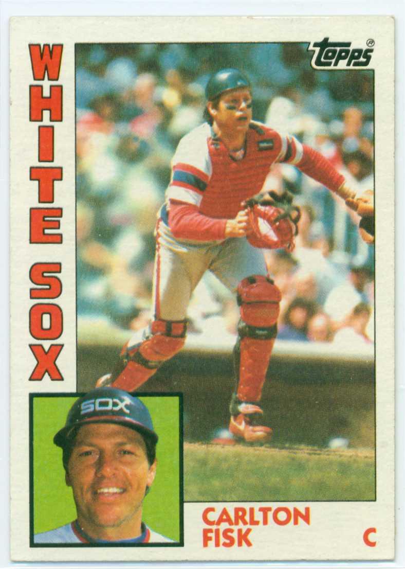 Carlton Fisk 1983: Carlton Fisk 1984 Topps
